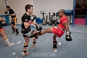 Boxe thaï 2015 2016 Bruno Alexis
