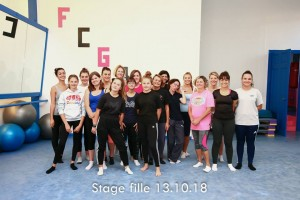 2018 2019 Stage fille Photo groupe