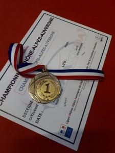 2018 2019 Florian 15 decembre médaille